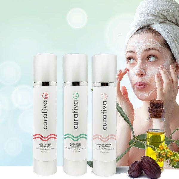 Facial Cleansers, Scrubs, Masque